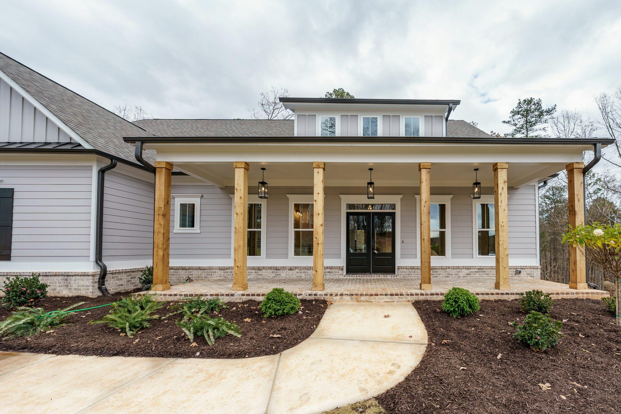 New Homes in Woodridge Estates Canton GA | Etowah Exterior | Loren Homes
