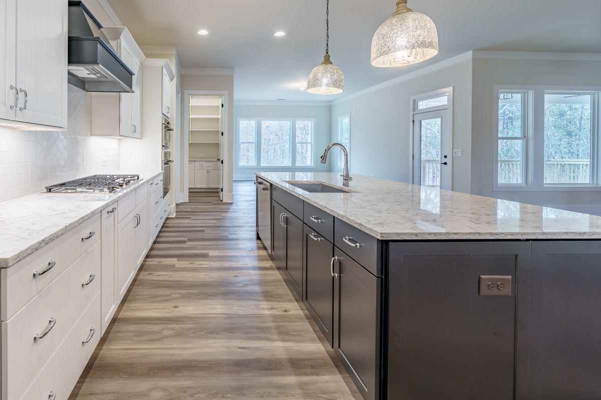 New Homes in Woodridge Estates Canton GA | Kitchen Detail | Loren Homes