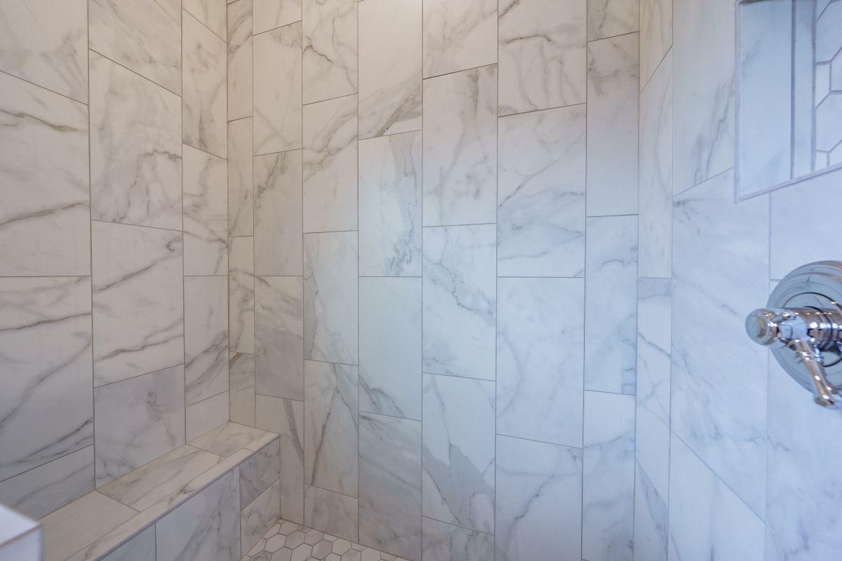 New Homes in Woodridge Estates Canton GA | Bathroom Detail | Loren Homes
