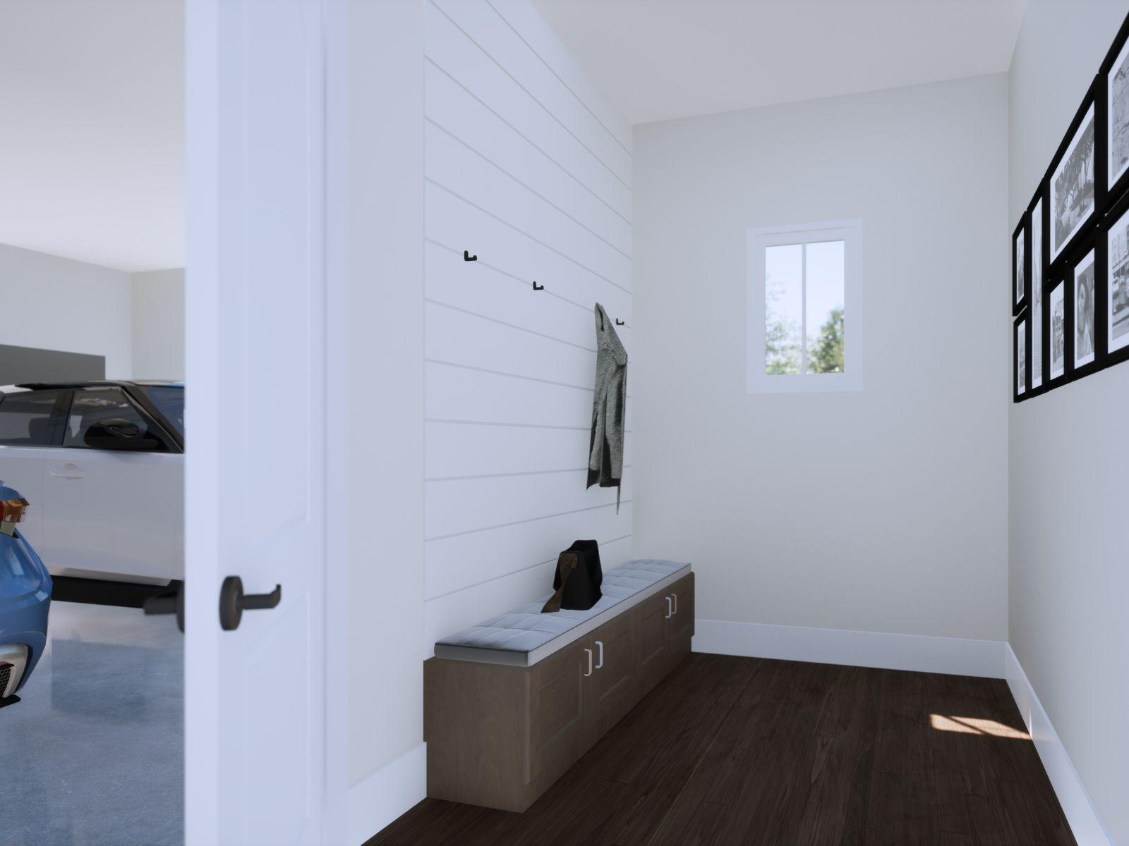 Etowah Mud Room Drop Zone | Loren Homes | New Homes in Woodridge Estates Woodstock GA
