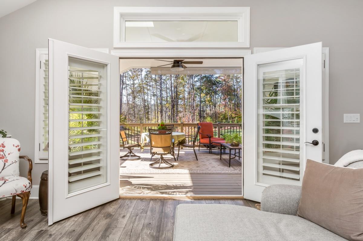 Loren Homes Loren Homes | Outdoor Deck | New Homes in Atlanta GA