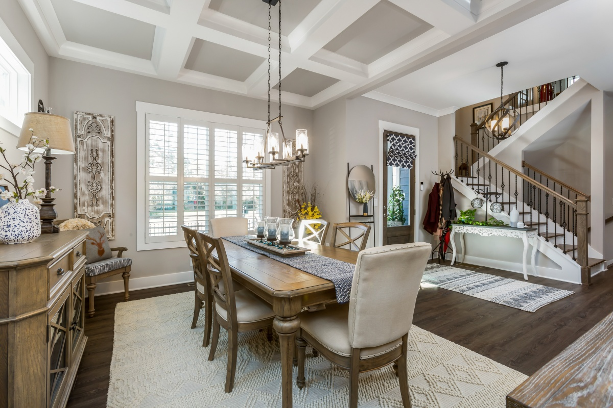 Loren Homes Loren Homes | Dining Room Interior | New Homes in Atlanta, GA