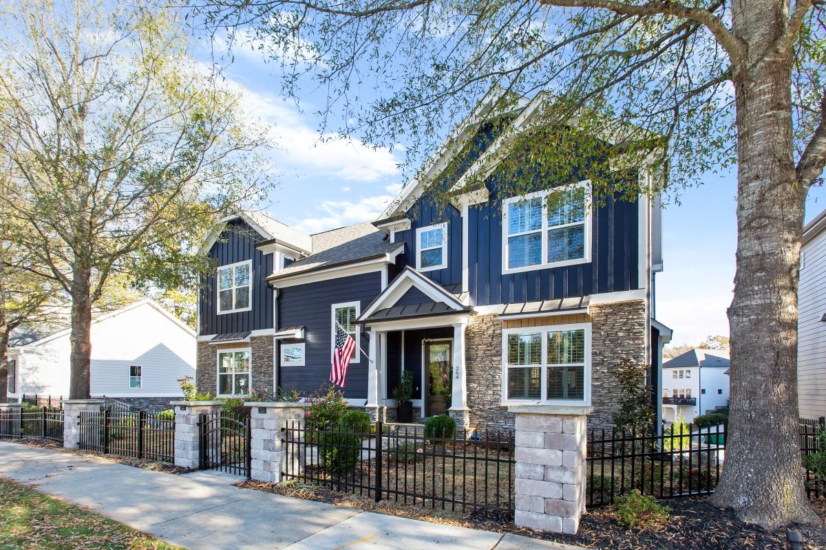 Loren Homes Loren Homes | Two Story Exterior | New Homes in Atlanta GA