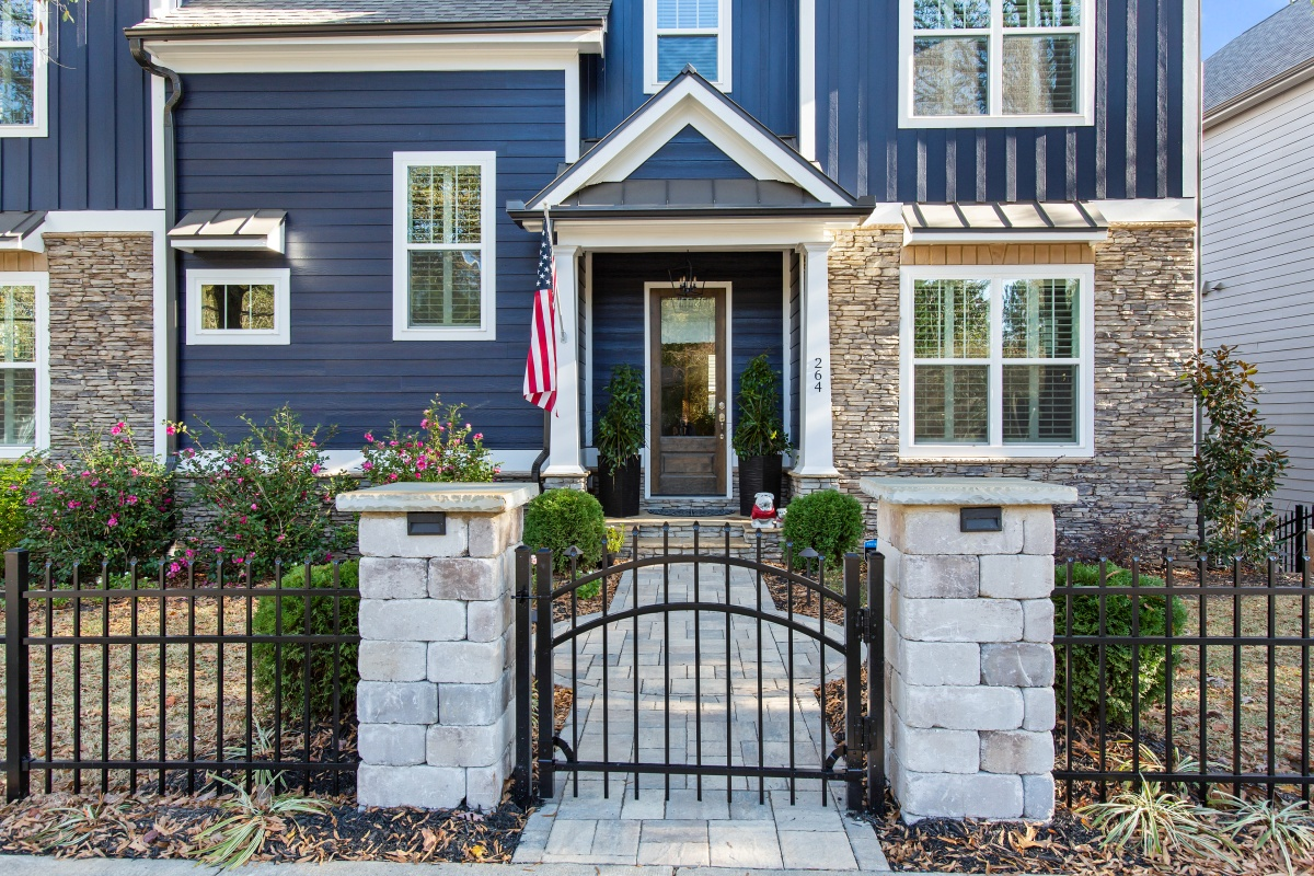 Loren Homes Loren Homes | Exterior Entry Detail | New Homes in Atlanta GA
