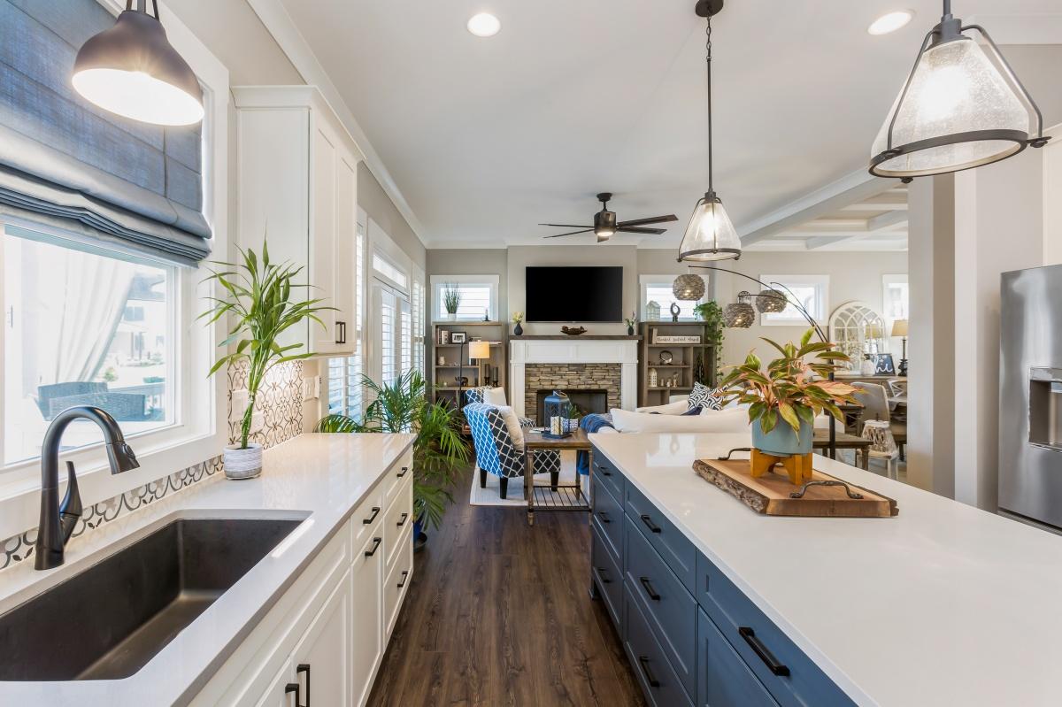 Loren Homes Loren Homes | Kitchen and Living Interior | New Homes in Atlanta GA