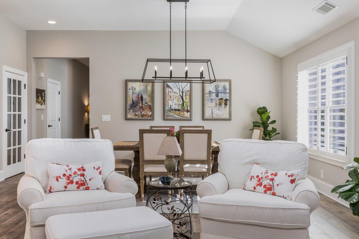 Loren Homes Loren Homes | Living and Dining Interior | New Homes in Atlanta GA