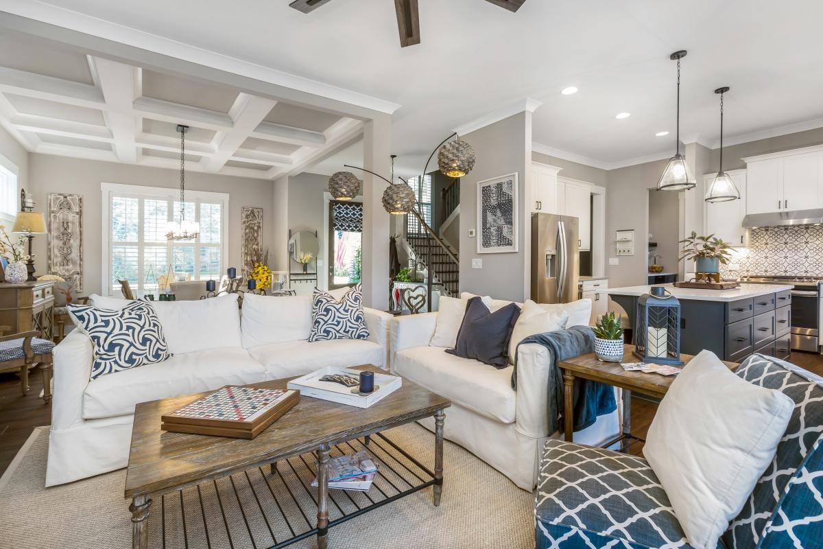 Loren Homes Loren Homes | Living and Kitchen Interior | New Homes in Atlanta GA