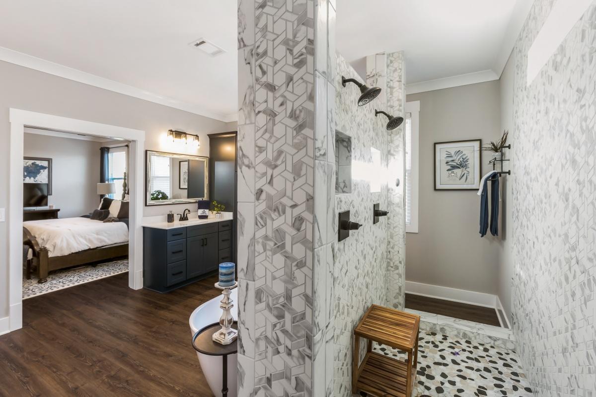 Loren Homes Loren Homes | Owners Bath Interior | New Homes in Atlanta GA
